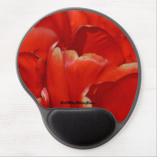 HAMbyWG - Gel Mouse Pad - Red Tulips