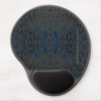 HAMbyWG - Gel Mouse Pad - Snake Gray/Blue