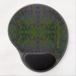 HAMbyWG - Gel Mouse Pad - Snake Green/Purple/Gray
