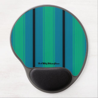 HAMbyWG - Gel Mouse Pad - Teal Blue Green