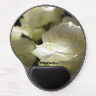HAMbyWG - Gel Mouse Pad - White Roses