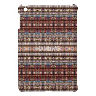 HAMbyWG -Hard Case Colorful Threads Image iPad Mini Covers