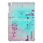 HAMbyWG -Hard Case - Distressed Heart iPad Mini Cover