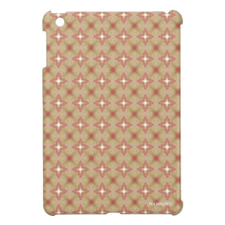 HAMbyWG iPad Mini Glossy Hard Case - Ecru/Rose iPad Mini Cover