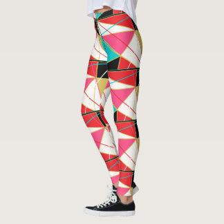 HAMbyWG - Leggings - R/W/Tqs/Blk/Pnk