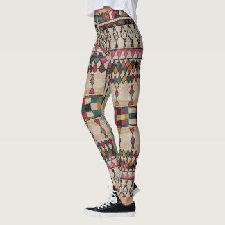 HAMbyWG Leggings Vintage Moroccan Off-White/Pnk/Tl