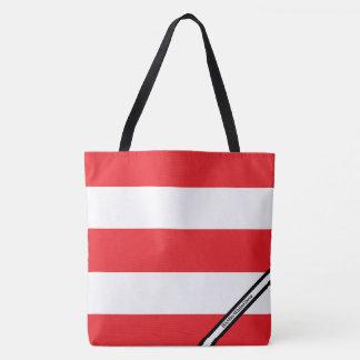 HAMbyWG - LG Tote Bag - Red & White W Logo