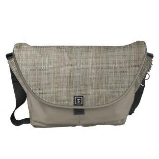 HAMbyWG - Messenger Bag - Weave Print - Clay