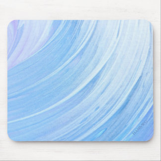 HAMbyWG - Mouse Pad - silver-blue Swirl