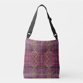 HAMbyWG - Over the Shoulder - Magenta Indian Crossbody Bag