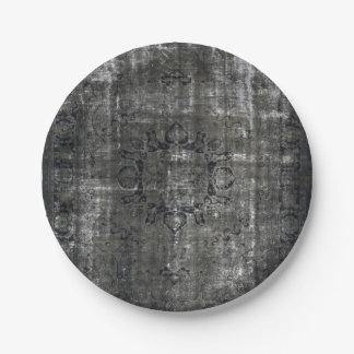 HAMbyWG - Paper Plate - Distressed Black
