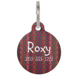 HAMbyWG - Pet Name Tag - Hippy Red