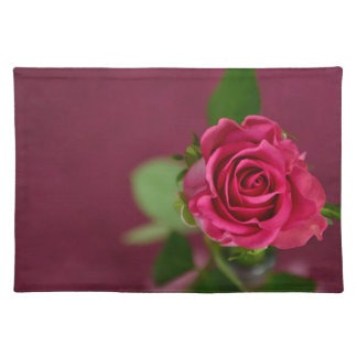 """HAMbyWG - Placemats  20"""" x 14"""" - Cherry Plum Rose"""