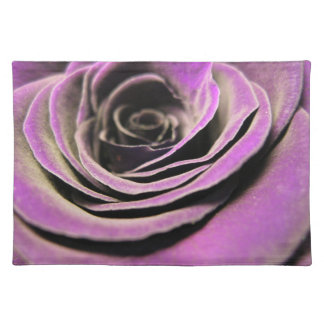 """HAMbyWG - Placemats  20"""" x 14"""" - Plum Rose"""