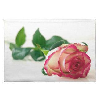 "HAMbyWG - Placemats  20"" x 14"" - Single Rose"