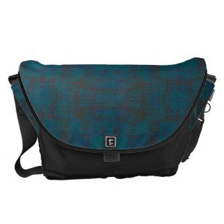 HAMbyWG - Rickshaw Messenger Bag - Teal/Charcoal