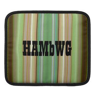 HAMbyWG - Rickshaw Sleeve  Greens thru Tans