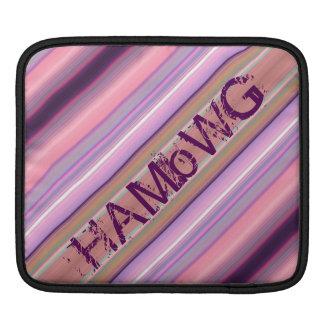 HAMbyWG - Rickshaw Sleeve - Pink Peach Burg Plum