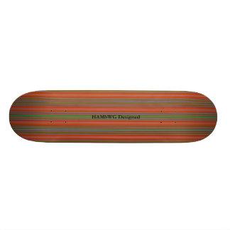 HAMbyWG - Skateboard - Stripes O/A/G