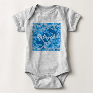 HAMbyWG - T-Shirt - Beloved Son Blue Camouflage