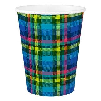 HAMbyWG - taza de papel - tela escocesa multi del Vaso De Papel