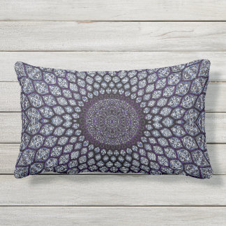 """HAMbyWG -Throw Pillow 20"""" - Indian Ink Purple"""