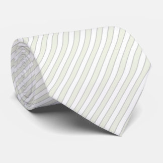 HAMbyWG - Tie - White/Bone/Lgt Gry Vert. Stripe