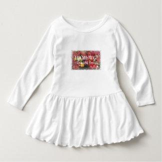 HAMbyWG - Toddler Ruffle Dress - Beautiful Rose