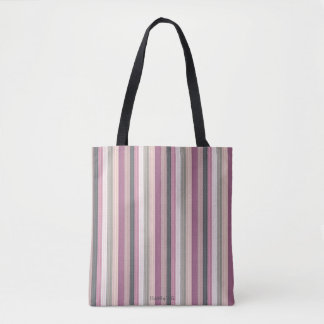HAMbyWG- Tote Bag - Pink Gray Hipster Look