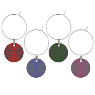 HAMbyWG - Wine Charms - Distressed Colors 2