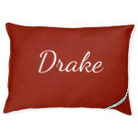 HAMbyWhiteGlove - Dog Bed - Red/Red