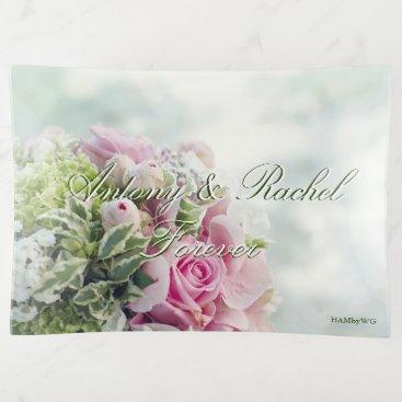 Bride Themed HAMbyWhiteGlove - Glass Trinket Tray - Forever