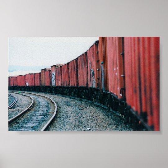Hamden Train Yards Poster