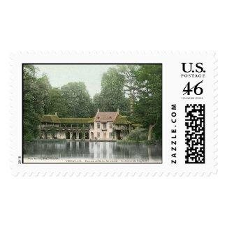 Hameau de Marie Antionette, Versailles, France Vin stamp