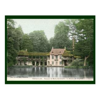 Hameau de Marie Antionette, Versailles, France Vin Postcard