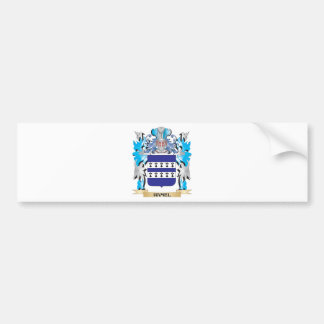 Hamel Coat of Arms - Family Crest Bumper Stickers