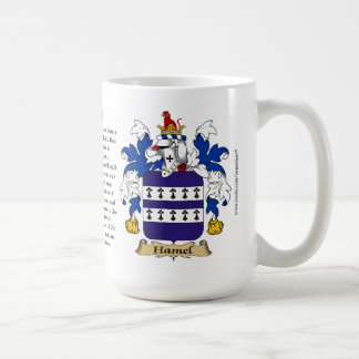 Hamel, the Origin, the Meaning and the Crest Coffee Mug