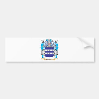 Hamell Coat of Arms - Family Crest Bumper Sticker