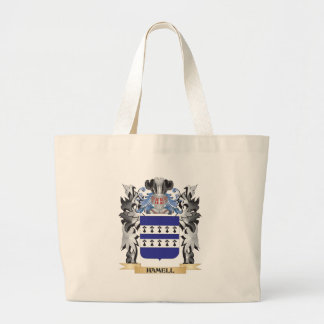Hamell Coat of Arms - Family Crest Jumbo Tote Bag