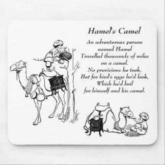 Hamel's Camel Limerick Mouse Pad