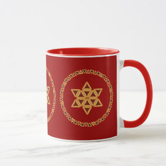 Hamentashen Star of David Mug