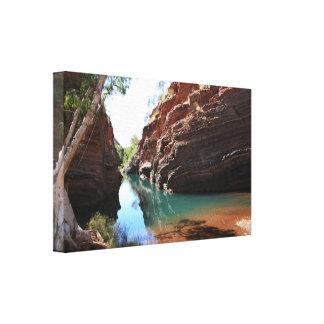 Hamersley Gorge, Karijini National Park - Canvas
