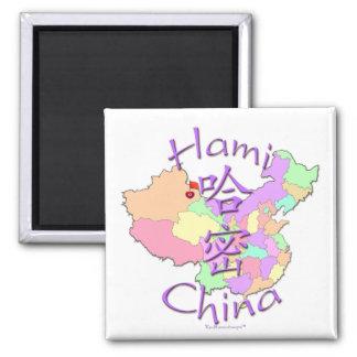 Hami China 2 Inch Square Magnet