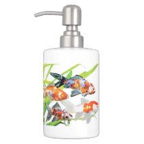 hamigakisetsuto of goldfish, No.01 Bathroom Set
