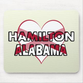 Hamilton, Alabama Alfombrilla De Raton
