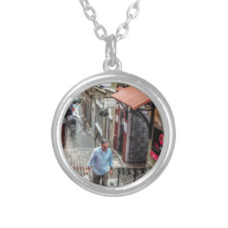 Hamilton Back St Silver Plated Necklace