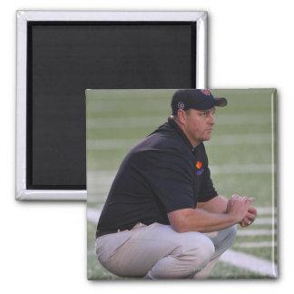 HAMILTON, CANADÁ - 25 DE JUNIO: Primer entrenador  Imán Cuadrado