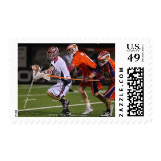 HAMILTON, CANADA - AUGUST 6: Greg Downing #8 Postage Stamp