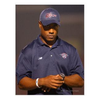 HAMILTON, CANADA - AUGUST 6: Head coach Bill Postcard