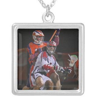 HAMILTON, CANADA - AUGUST 6: Paul Rabil #99 Silver Plated Necklace